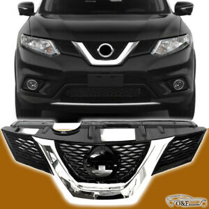 Nissan Rogue Front Grill Oe Style Chrome Black Grille Fits 2017 To 2018