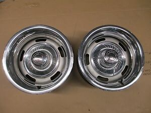 2 Corvette Matching 1972 Az Rally Wheels Ralli Rims 1969 1970 1971 1973 1974