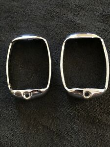 1937 1938 Oem Chevy Tail Light Bezels