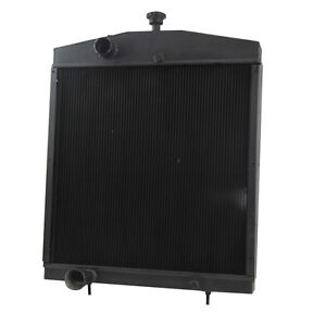 A184365 Aluminum Tractor Radiator For Case Cs 2390 2394 2590 2594 3294 3394 3594