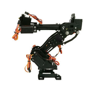 Metal Smart 8 Dof Robot Arm Gripper Kit With 3316 Servo Diy Arduino