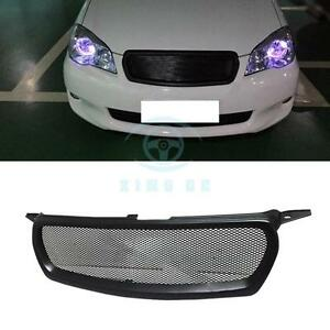 Matte Black Resin Front Hood Grille Modified Replace For Toyota Corolla 2010 12