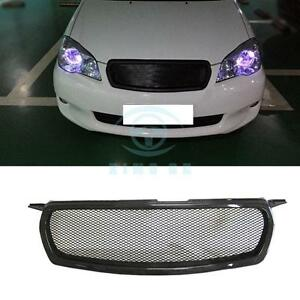 Carbon Fiber Front Hood Grille Modified Replace For Toyota Corolla 2010 2012