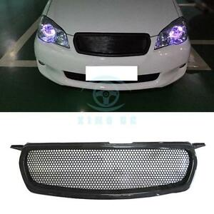 Carbon Fiber Front Grille Honeycomb Mesh Replace For Toyota Corolla 2010 2012