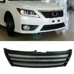 High Quality Horizontal Stripes Front Grille Modified For Toyota Camry 7th 2012