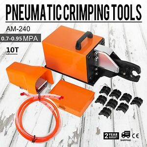 Am 240 Pneumatic Crimping Machine 10t High Efficiency Tool Set Ce Certification