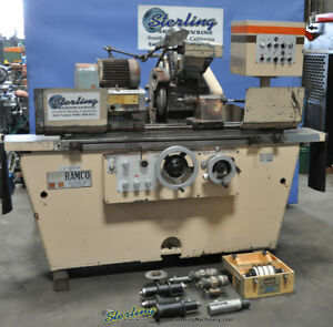 11 X 30 Used Ramco Universal Cylindrical Grinder 9740