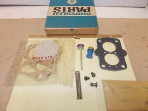Mopar Nos Bendix Major Carb Repair Pkg 63 68 Dodge Truck C500 Low Cab Forward