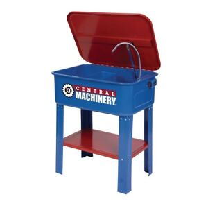 New Engineering 20 Gallon Parts Washer Convenient Cleaning Station Tool Shop