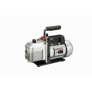 2 Stage Durable Electric Vacuum Pump Auto 3 Cfm Air Conditioner Refrigeration