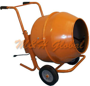 5 Cubic Short Cement Mixer Portable Concrete Mixing Motar Mixer