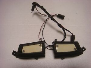 1970 Only Amc Amx Javelin Lower Dash Courtesy Lights Complete Set Lite 70