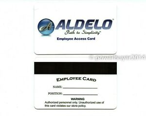 Adelo Pos Employee Access Magnetic Swipe Cards 10 Pack High Quality New