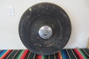 1930 s Plymouth Side Fender Wheel Cover Continental Kit Spare Tire Accessory
