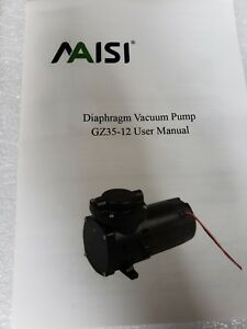 Maisi Dc 12v Brush Diaphragm Compressor Vacuum Pump 100w New