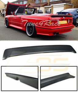 For 85 91 Bmw E30 3 series Mtech 1 Style Heckspoiler Rear Trunk Lid Wing Spoiler