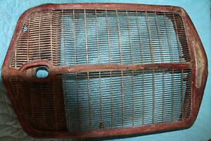 Vintage Antique Brockway Truck Grill 1930 s 40 s Rat Rod Man Cave