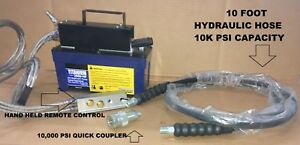 Air Hydraulic Pedal Pump Remote Controlled Auto Body Shop And Forge Press