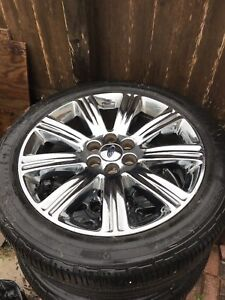22 Ford F150 Expedition 2013 2014 Chrome Oem Wheel Factory 22x9 5