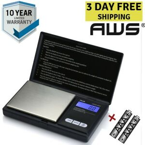 Coin Weigh Jewelry Ring Scale Digital Reloading Measure Small Mini Pocket Scales