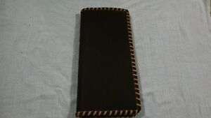 Oil Field Leather Pipe Tally Book Cover 8 75 X 4 Jjj