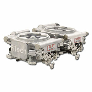 Fitech Universal Throttle Body Go Efi 2x4 Fuel Injection Kit P N 30061