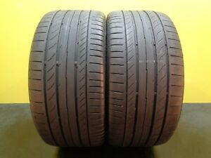 2 Tires Continental Contisportcontact 5 Ssr Run Flat 255 35 19 96y 60 22244