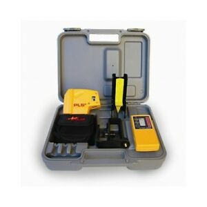 Pacific Laser Systems Pls5 new system Self leveling Plumb Square With Detector