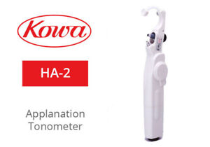 Kowa Ha 2 Hand Held Portable Applanation Tonometer Includes 2 Ha 2 Tips