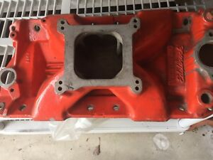 Edelbrock Small Block Chevy Intake Manifold