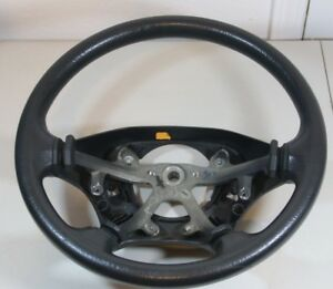 2002 2003 Dodge Ram 1500 2500 3500 Grey Vinyl Steering Wheel Oem