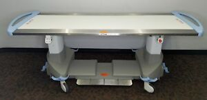 Ge Discovery Delphinium Non stationary 4 Way Float X Ray Imaging Table Certified