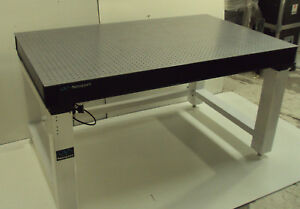Tested Crated Newport 3 x5 Optical Table Pneumatic Self Level Isolation Bench