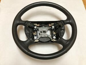 Ford Mustang Gt Leather Steering Wheel 1999 2000 2001 2002 2003 2004 Perfect