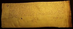 1499 Parchment Nobility Mention Of The Chamberlain Of Louis Xii