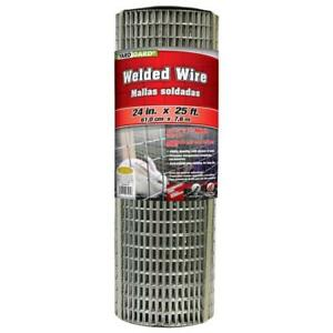 Yardgard 309301a 24 Inch By 25 Foot 16 Gauge 1 2 1 Mesh Galvanized Welded Wire