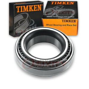 Timken Rear Wheel Bearing Race Set For 1977 1989 Aston Martin Lagonda Left Xy