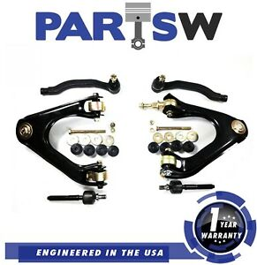 8 Suspension Parts Kit For Honda Accord 90 93 Control Arm Tie Rod Sway