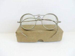 Vintage Safety Glasses Goggles Plastic Mesh Side Shields Steampunk Aviation