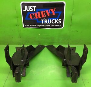 99 02 Chevy Gmc 2500 3500 Fisher 7161 Minute Mount Push Plates Pair Mm1 Mm2
