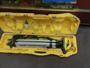 Spectra Precision Ll100n Self Leveling Laser In Case