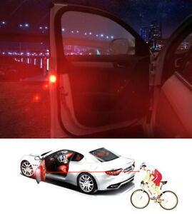 Auto Door Safety Opened Led Light Car Warning Wireless Strobe Alarm Lamp