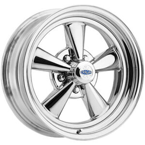 15 Inch Cragar 61c S S 15x7 5x4 75 0mm Chrome Wheel Rim