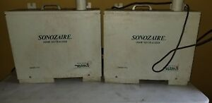 Lot Of 3 Sonozaire 115a Ozone Generator Odor Neutralizer For Parts Not Working
