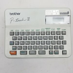 Brother P touch Iii Pt 10 Label Maker Works W User Guide Label Tapes