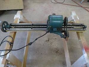 Vintage Oliver 30 Knife Grinder Attachment For Jointers please Read Last Note