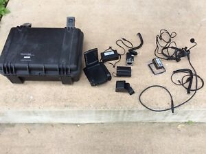 Frontline Audio Communications Swat Police Audiosoft Technologies Fc03 Camera