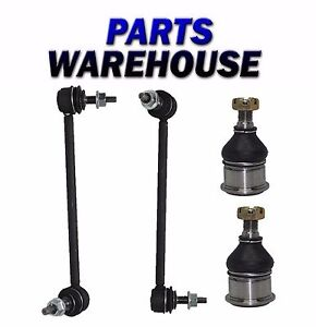 4 Pc New Suspension Kit For Taurus Continental Sable Sway Bar Link