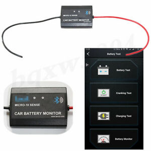 1 Pcs Battery Monitor Without Joint Real Time Testing Cranking Charging Voltage