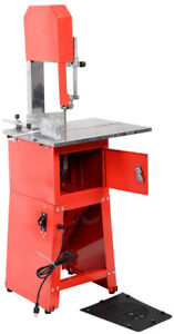 Brand New High Quality Electric 550w Stand Up Commercial Meat Band Saw Grinder